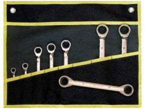 sada klíčů ráčnových 8-dílná v obalu