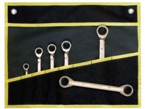 sada klíčů ráčnových 6-dílná v obalu