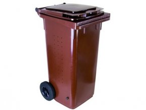 popelnice 120 L plastová BIO s kolečky