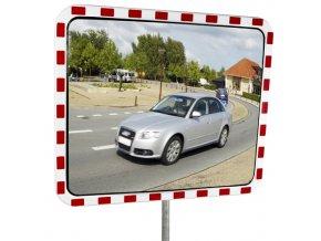Venkovní dopravní zrcadlo - polykarbonátové