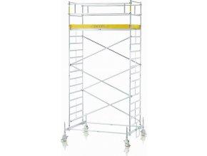 Z600 Lešení s pohyblivým rámem, šířka 1,35 m 4,60 m