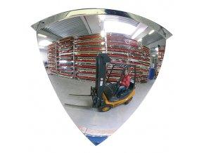 Rohové kontrolní zrcadlo