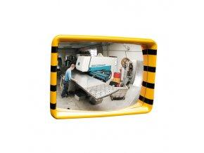 Certifikované zrcadlo pro průmysl a logistiku - malé