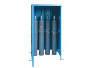 Klec pro venkovní skladování tlakových láhví - bez podlahy