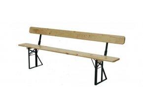 53315 lavice s operkou k pivnimu setu 200 x 25 cm