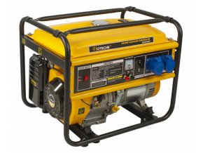 Benzínová elektrocentrála 5000 W - HTG820004