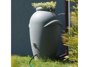 Nádrž na dešťovou vodu Aquacan 360 litrů, terakota