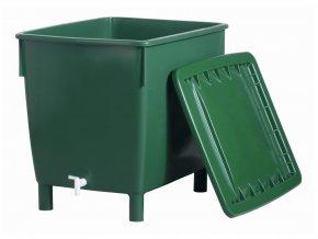 Plastová nádrž na dešťovou vodu CUBE 210-400-650 l, 650 l
