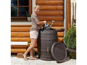 Plastová nádrž na dešťovou vodu TONNELET 260-420 l, 420 l