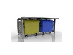 60965 pristresek pro odpadove kontejnery duo