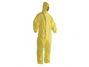 Ochranná kombinéza žlutá vel. XL