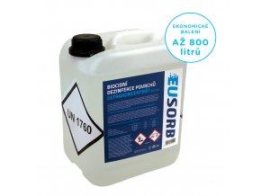 Biocidní dezinfekce povrchů ultrakoncentrát, 5 l = 800 l
