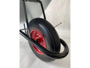 Stavební kolečko PROFI 150l KSLN09/PU - s polyuretanovým kolem a kuličkovými ložisky