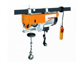 Elektrický lanový naviják 1850 W, 600/1200 kg - HTP805712