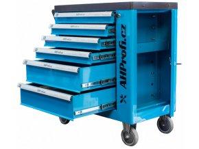 Dílenský vozík s nářadím 6 zásuvek, 272 dílů - K16071-272 | AHProfi