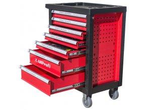Dílenský vozík Standard s nářadím, 245 dílů - H14019D | AHProfi
