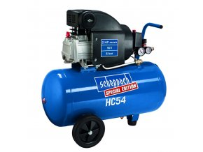 Olejový kompresor 50 l  Scheppach HC 54