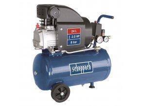 Olejový kompresor Scheppach HC 25