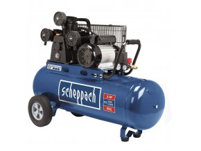 Olejový tříválcový řemenový kompresor 100 l Scheppach HC 550 tc