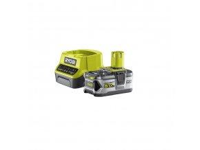 Sada 18 V lithium iontové baterie 5 Ah a nabíječky Ryobi RC18120-150