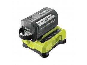36 V akumulátor 6 Ah + rychlonabíječka Ryobi RY36BC60A-160