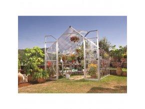 Zahradní skleník Palram Balance 8x12 silver