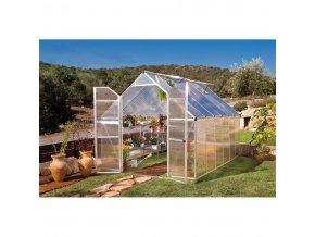 Zahradní skleník Palram Essence 8x12 silver