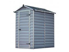 Zahradní domek Palram Skylight 4x6 šedý
