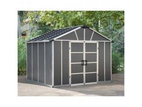 Zahradní domek Palram Yukon 11' x 9' antracit