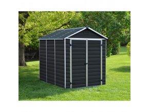 Zahradní domek Palram Skylight 6x8 antracit