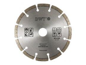 DWT diamantový segmentovaný kotouč 180 mm (abrazivní materiály)