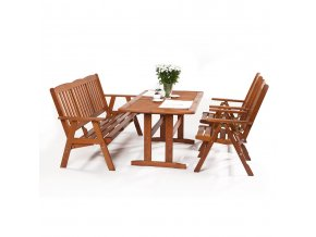 Dřevěný zahradní set Sven 2+3+ - severská borovice