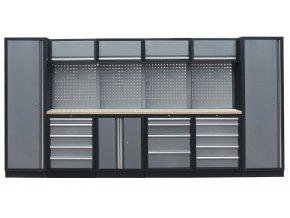Kvalitní PROFI dílenský nábytek 3920 x 465 x 2000 mm - TGS1300AA Grey