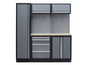 5-ti ks sestava kvalitního PROFI dílenského nábytku - TGS1300BAL03