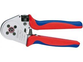 tyřtrnové Krimpovací kleště pro soustružené kontakty chromované 230 mm - 975265 | Knipex