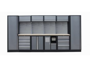 Kvalitní PROFI dílenský nábytek 3920 x 465 x 2000 mm - TGS1301AR Grey