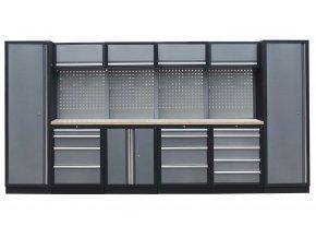 Kvalitní PROFI dílenský nábytek 3920 x 465 x 2000 mm - TGS1300A8 Grey