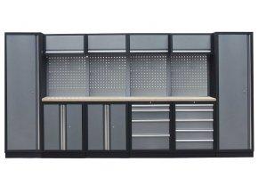 Kvalitní PROFI dílenský nábytek 3920 x 465 x 2000 mm - TGS1300AA4 Grey