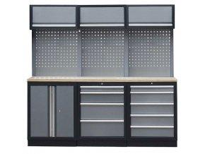 Sestava 6-ti ks PROFI dílenského nábytku 2040 x 465 x 2000 mm - TGS1300BC Grey