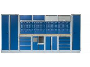 Kvalitní PROFI BLUE dílenský nábytek 4235 x 465 x 2000 mm - MTGS1301AA Blue