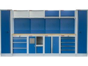 Kvalitní PROFI BLUE dílenský nábytek 3920 x 465 x 2000 mm - MTGS1301AB Blue