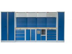 Kvalitní PROFI BLUE dílenský nábytek 4235 x 465 x 2000 mm - MTGS1301AJ Blue