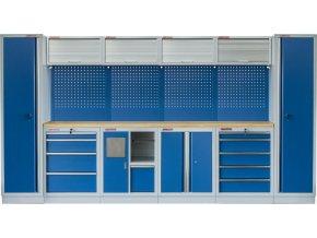 Kvalitní PROFI BLUE dílenský nábytek 3920 x 465 x 2000 mm - MTGS1301AP Blue
