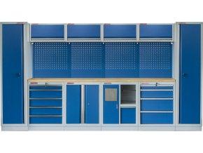 Kvalitní PROFI BLUE dílenský nábytek 3920 x 465 x 2000 mm - MTGS1301AR Blue
