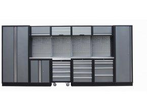 Kvalitní PROFI dílenský nábytek 4235 x 465 x 2000 mm - TGS1300VZ4