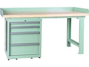 Pracovní stůl se skříňkou BR1004SADA