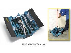 Kovová skříňka / kufřík s nářadím 190/80 - HA048922 | Hazet
