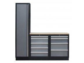4 ks sestava kvalitního PROFI dílenského nábytku - TGS1300BAL04