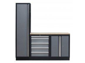 3 ks sestava kvalitního PROFI dílenského nábytku - TGS1300BAL05