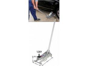 Hydraulický hliníkový pojízdný zvedák 1,35 t VIGOR V2481